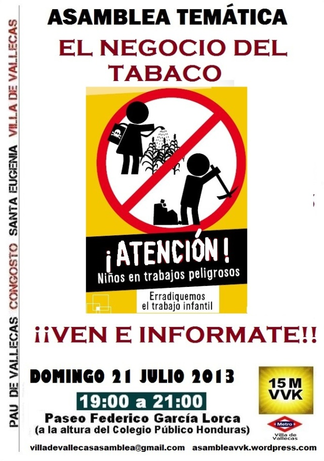 Cartel_Asamblea_DOMINGO_21 Julio2013 Modelo 2