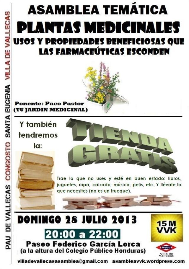 Cartel_Asamblea_DOMINGO_28 Julio2013+Tienda