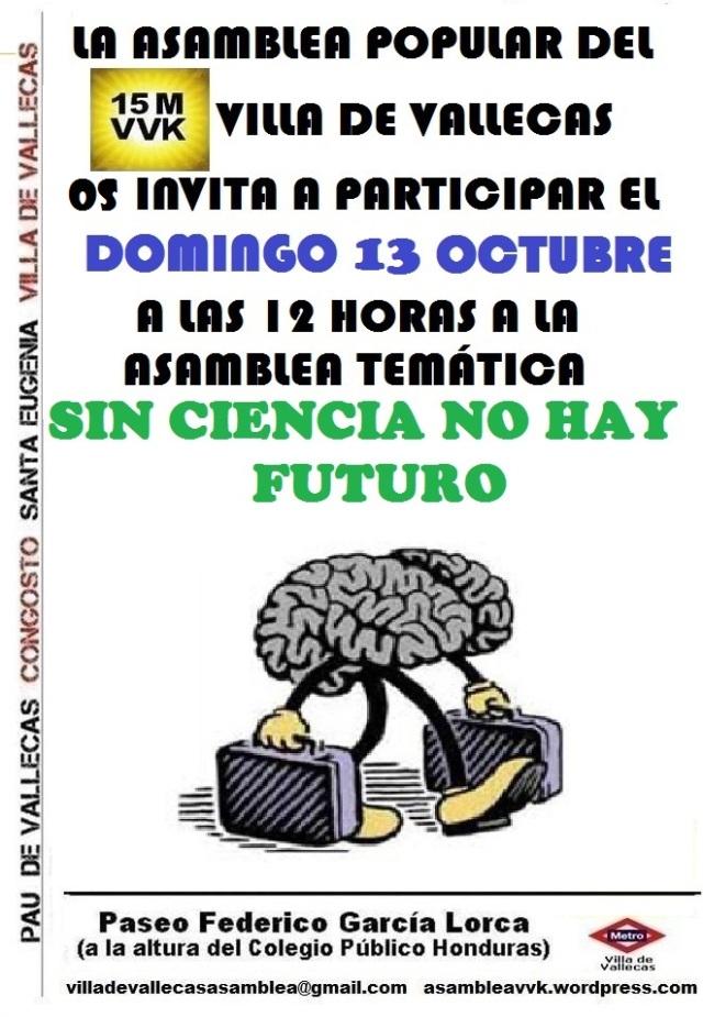 Cartel_Asamblea I+D_DOMINGO_13 Octubre 2013