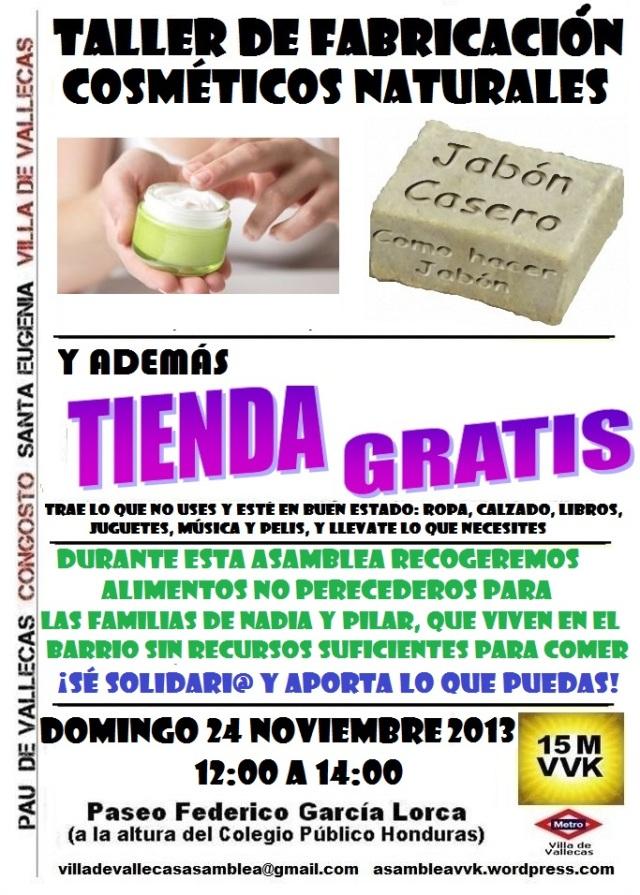 Cartel_Asamblea_DOMINGO_24 Noviembre2013+Tienda
