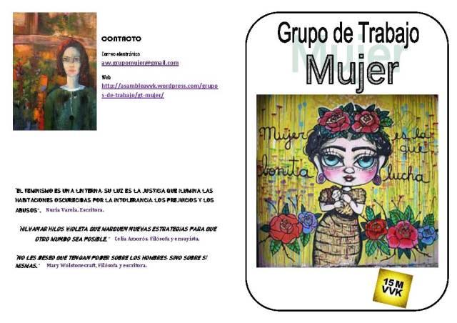 Folleto informativo n 3 PDF  Grupo Mujer 15M VVK. Color_Página_1