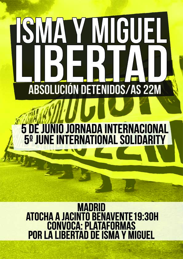 5 Junio MADRID