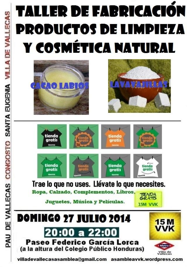 Cartel_Asamblea_DOMINGO_27 JULIO 2014+Tienda