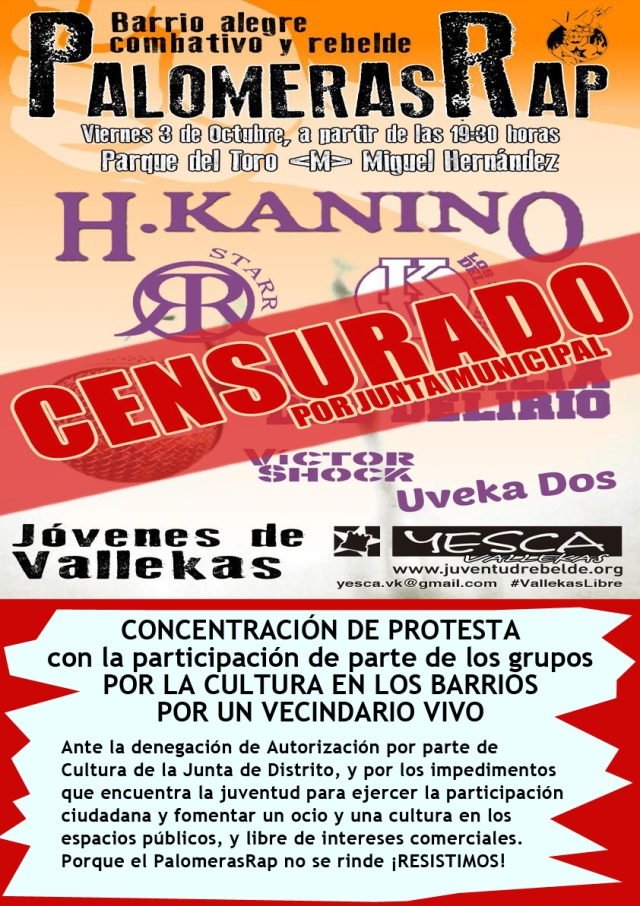 Cartel Censurado