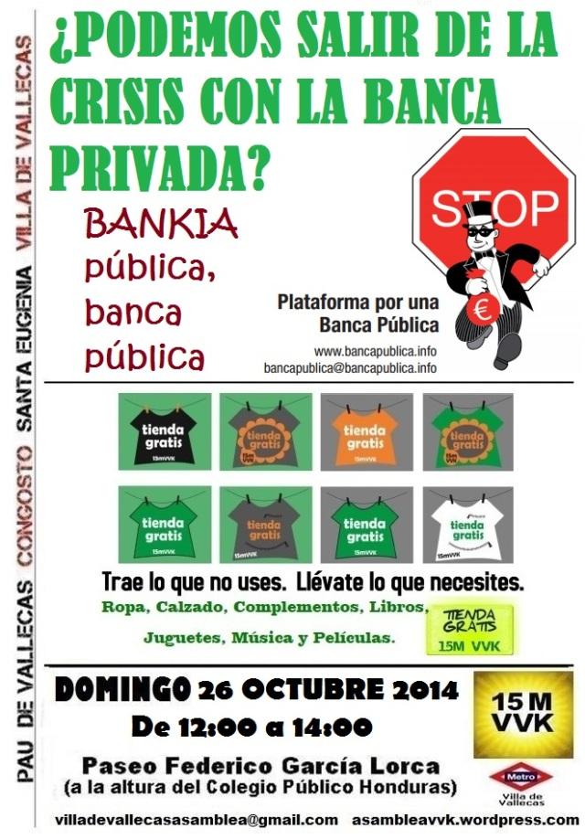 Cartel_Asamblea_DOMINGO_26 OCTUBRE 2014 Bankia+Tienda