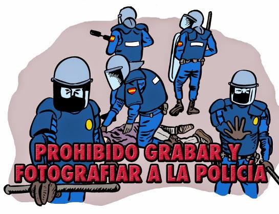 Ley Mordaza Fotos polis