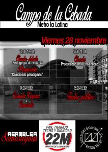 MarchasDignidad-28N-Madrid-LaCebada-Educacion