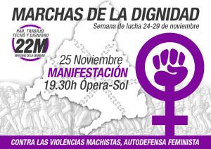 MarchasDignidad22M-25N-Madrid-ContraViolenciaMachista