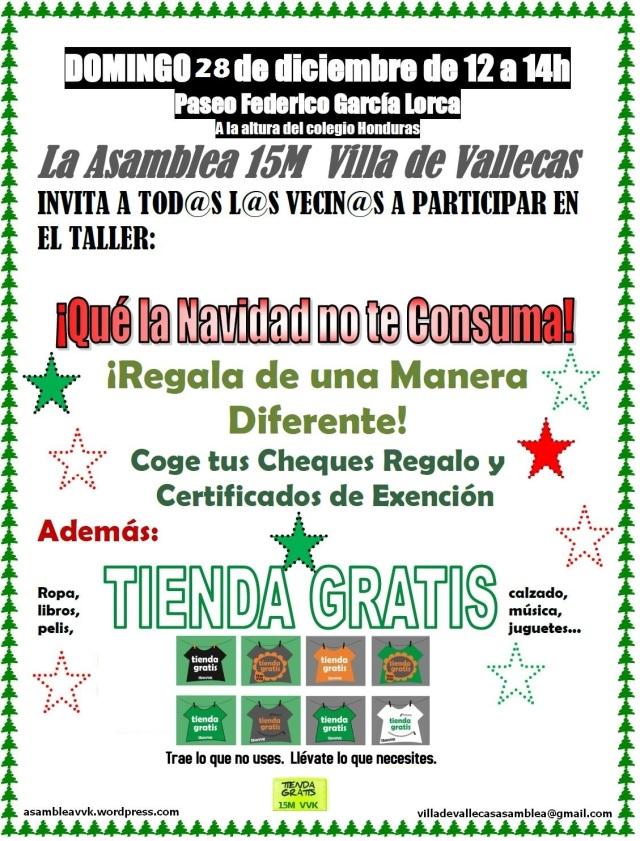 Cartel_Asamblea_Navidad_TiendaGratis_28Dic2014