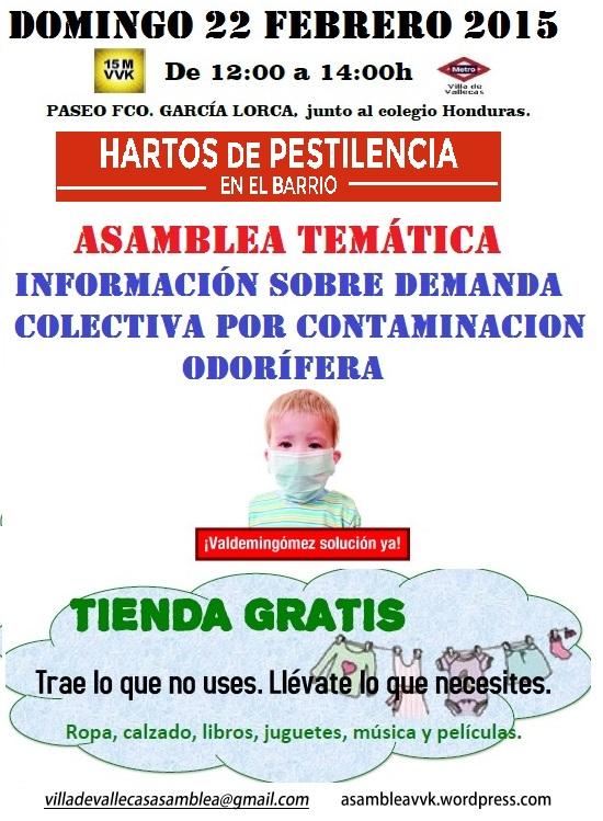 Cartel Domingo 22 Feb 15 Olores+Tienda
