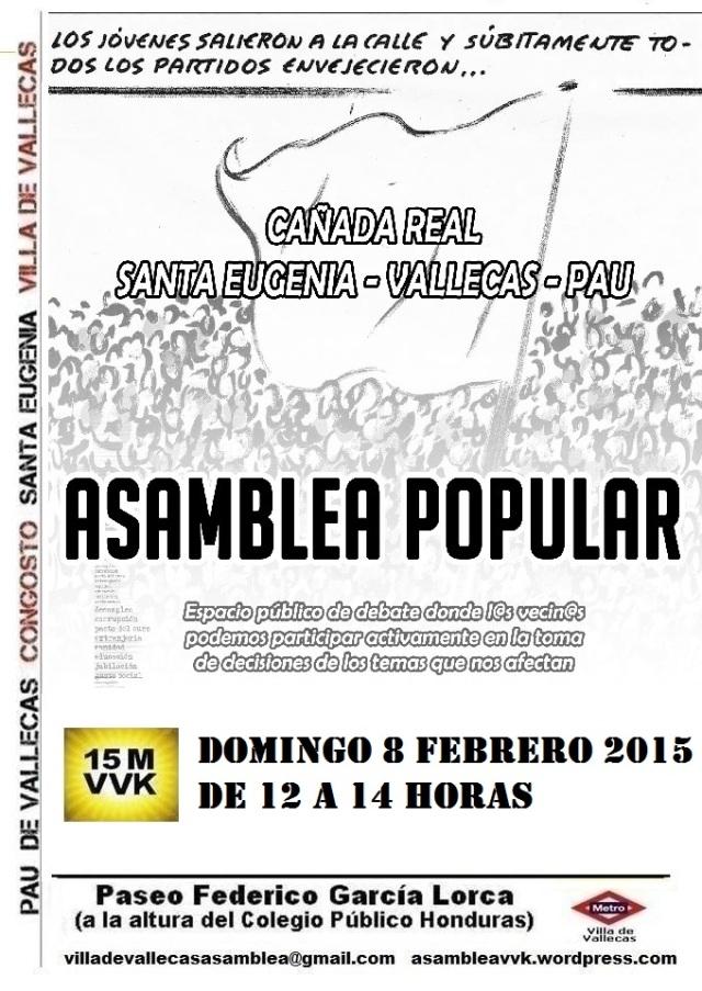 Cartel_Asamblea_DOMINGO_8 febrero 2015