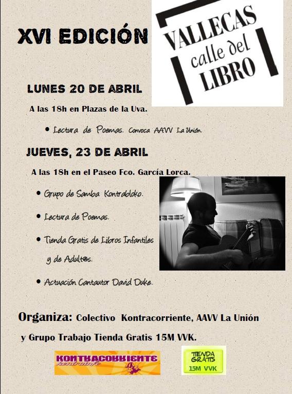 Cartel Calle Libro 2015
