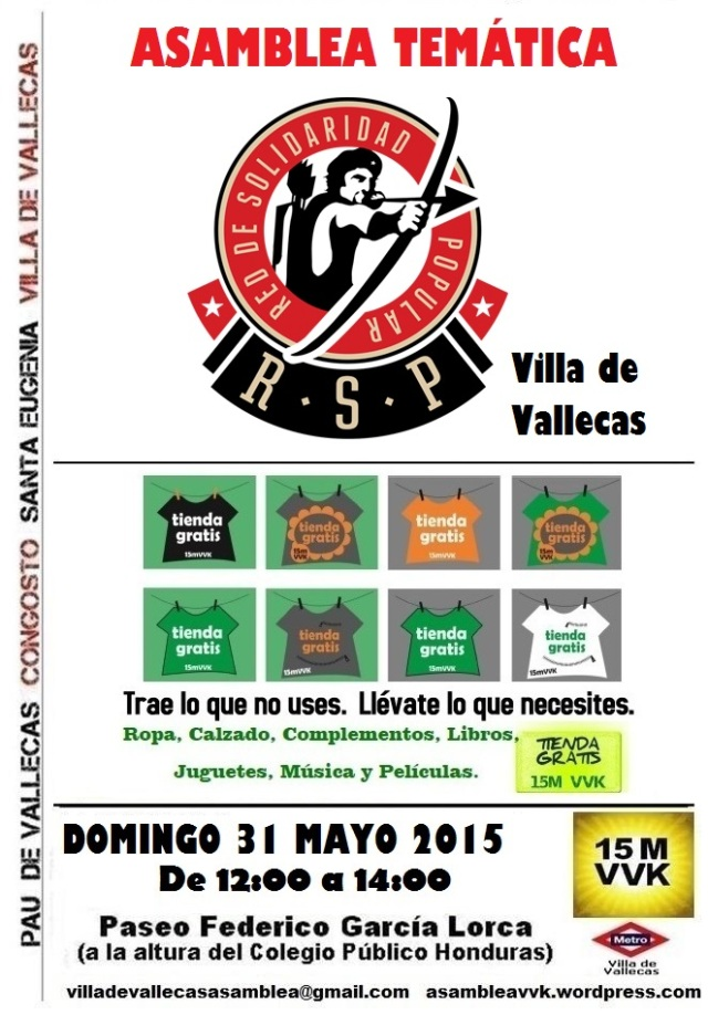 Cartel_Asamblea_DOMINGO_31 mayo 2015 RSP+Tienda