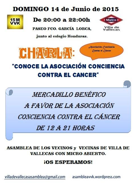 Cartel_Asamblea_DOMINGO_14 JUNIO 2015-Asociacion Cancer