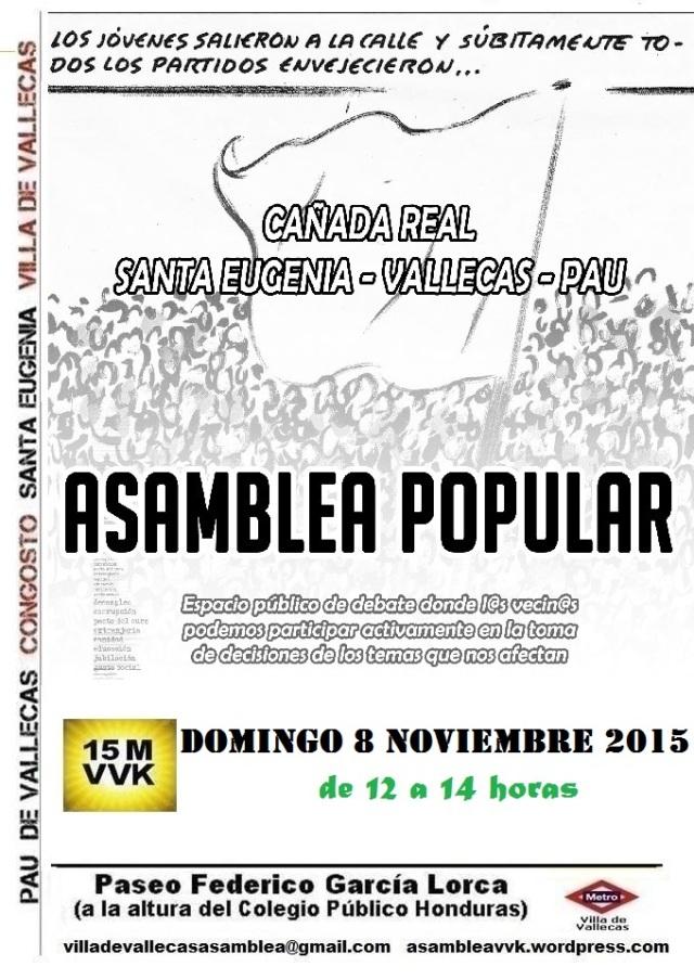 Cartel_Asamblea_DOMINGO_8 noviembre 2015
