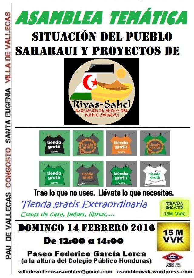 cartel_asamblea rivas sahel tienda extra 14-02-2016