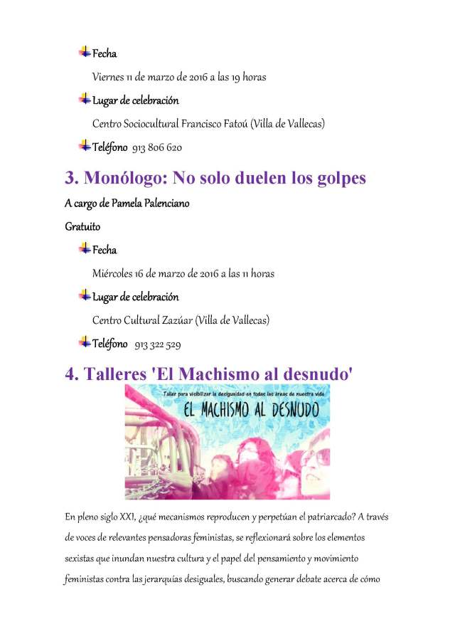 Actividades  Día de la Mujer en Villa de Vallecas_Página_2