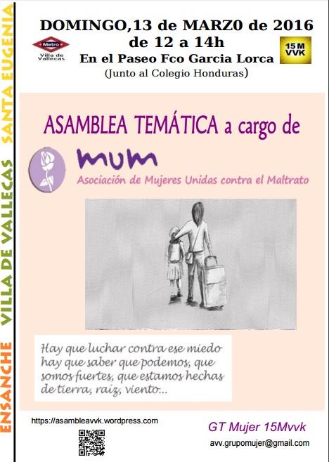 Asamblea MUM 13-03-2016