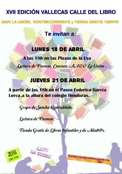2016 Cartel Calle Libro