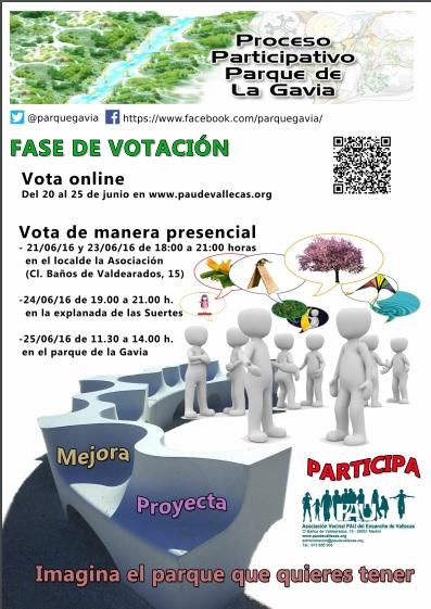 Cartel Votacion