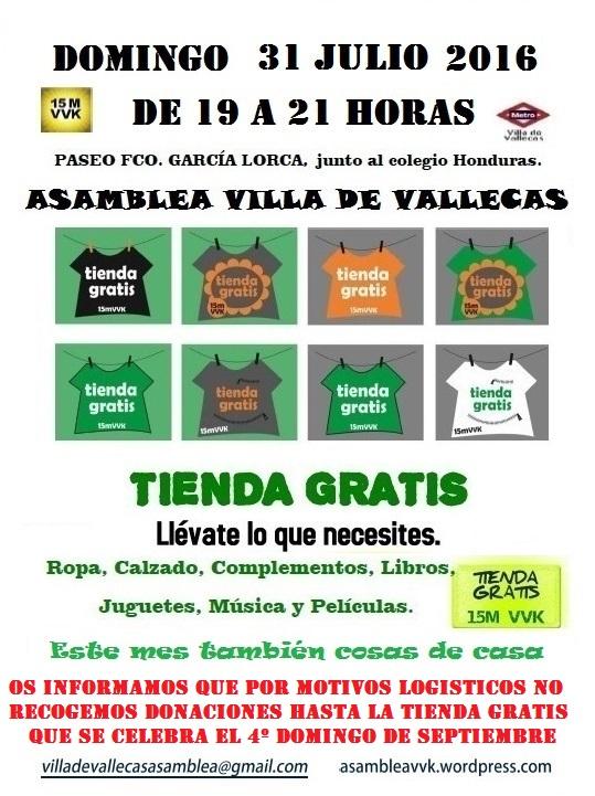Cartel Tienda Gratis 31-julio-2016_cosas de casa.jpg