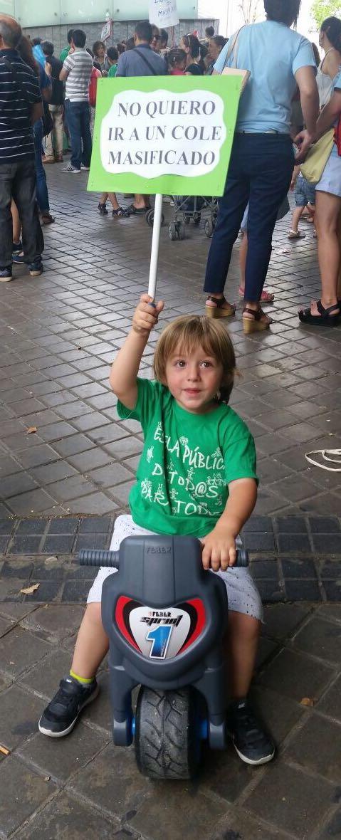 PequeñoManifestante