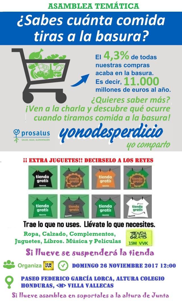 Cartel 26 nov 17 Yo no desperdicio+Tienda.jpg