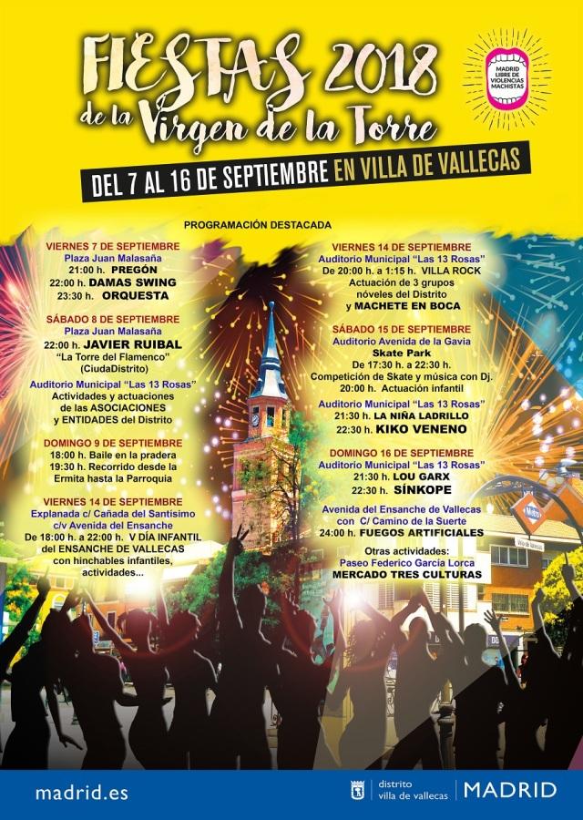 Cartel Villa Fiestas